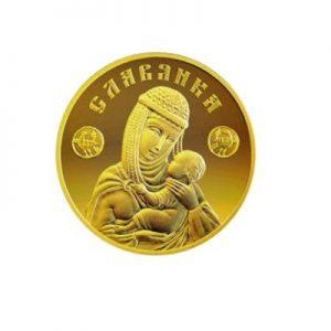 Инвестиционная монета Славянка: золотая монета Белоруссии