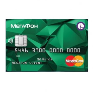 Банковская карта Мегафон: единый счет карты и телефона