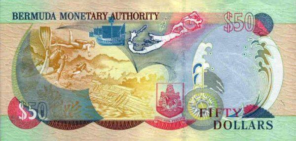 бермудские 50 долларов