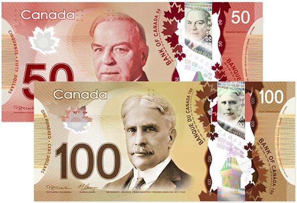 Канадские пластиковые доллары