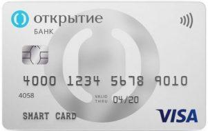 Смарт карта банк Открытие