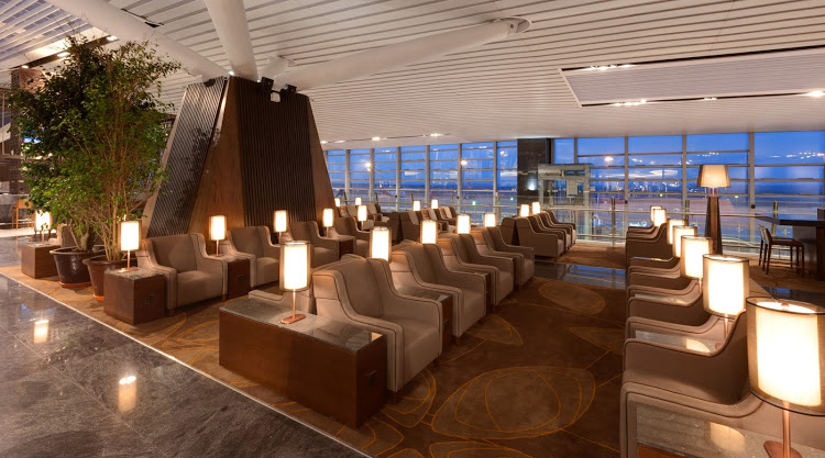 Plaza Premium Lounge Хитроу, Лондон