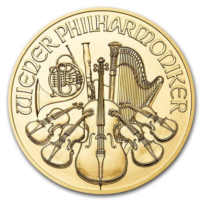 Монета Венский Филармоникер