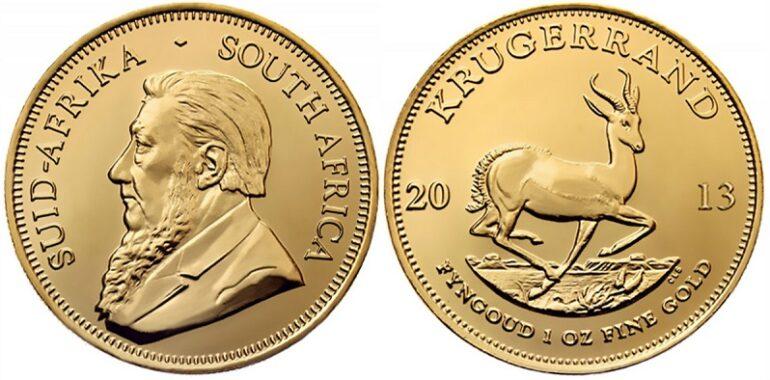 Монета Крюгерранд