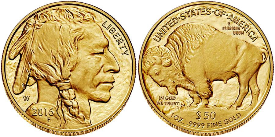 Монета Американский Буффало
