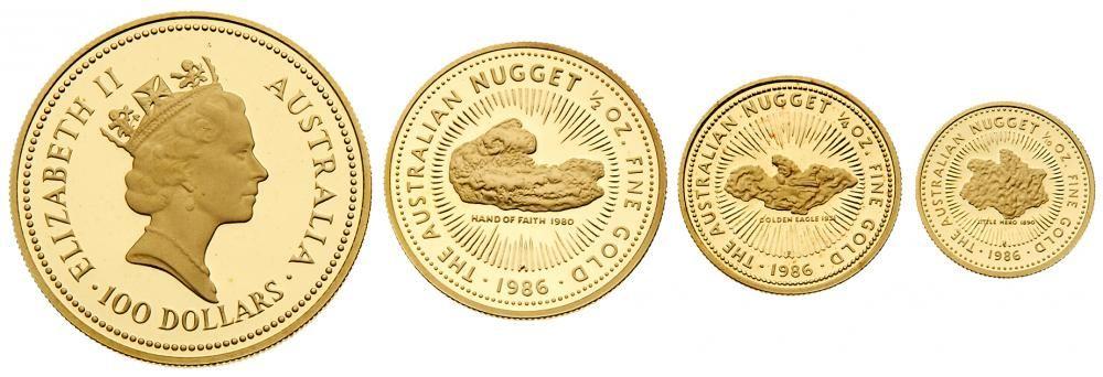 Монета Австралийский самородок