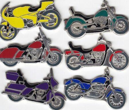 Монеты в виде мотоциклов